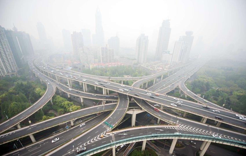 TOPSHOTS-CHINA-CARS-POLLUTION