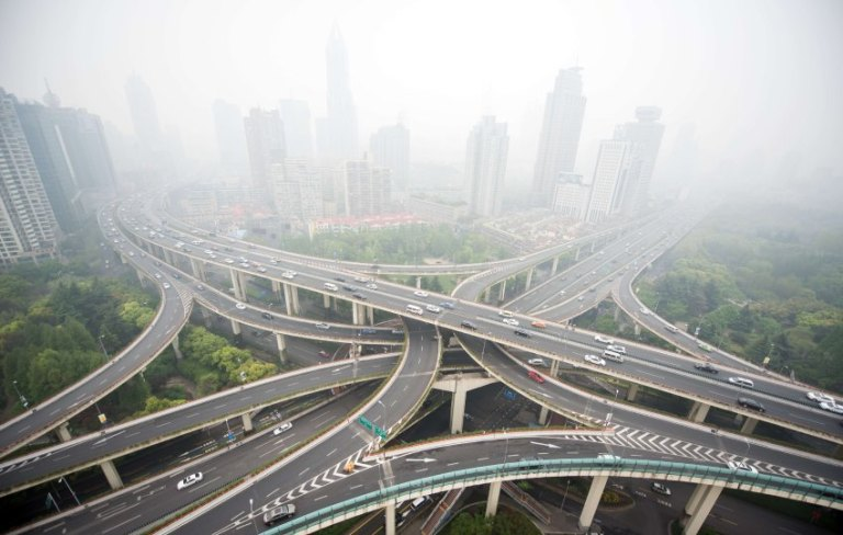 TOPSHOTS-CHINA-CARS-POLLUTION