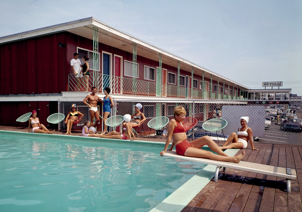 Swimming Pool At The Mt. Royal Motel