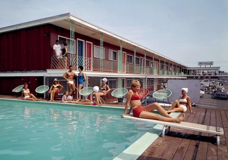Swimming Pool At The Mt. Royal Motel