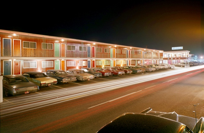 Mt. Royal Motel At Night